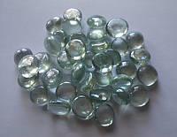 Камни декор стеклянные Stones капли (прозрачные)
