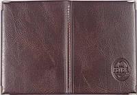 Обложка на водительские документы Petek цвет коричневый