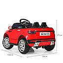 Детский электромобиль Джип M 3213 EBLR-7, Land Rover, Кожа, EVA резина, Амортизаторы, оранжевый, фото 6