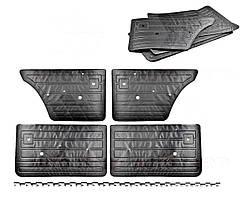 Обивка двери ВАЗ 2107 (комплект) (Криста). 2107-6102012/13, 6202012/1