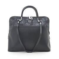 Женская сумка 19095 черная (кожзам)