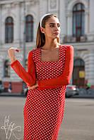 Платье худи стильное женское с капюшоном разные цвета Smk3731, фото 1