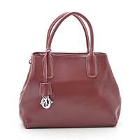 Женская сумка 1005 red wine натуральная кожа)