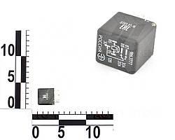 Реле 5 контактное 12В 30/20А, без кронштейна, с резистором ВАЗ, ГАЗ, Волга, 2410, 3110 (ЭМИ). 986.3777