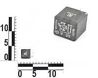 Реле 5 контактное 12В 30/20А, без кронштейна, с резистором ВАЗ, ГАЗ 3302, Газель (ЭМИ). 986.3777