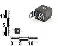 Реле 4 контактное 12В 30А, кронштейна, с резистором ВАЗ, ГАЗ 3302, Газель (ЭМИ). 982.3777-10