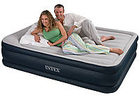 Надувная кровать-матрас Интекс/Intex Twin Deluxe 203х157см