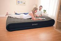 Надувная кровать- матрас Интекс Intex Deluxe Mid Rise 203х152см