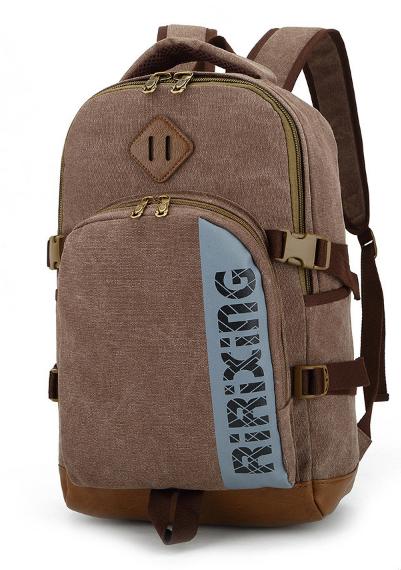 Рюкзак Ririxing мішковина коричневий ( код: R657 )