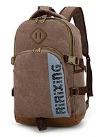 Рюкзак Ririxing мішковина коричневий ( код: R657 ), фото 1