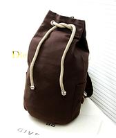 Рюкзак-мешок Muzhilan коричневый мешковина ( код: R450 ), фото 1
