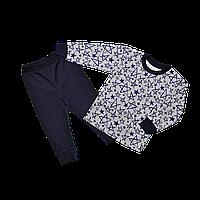 Пижама для мальчика Dexters Звезда 34 Серо-синий (d301 )