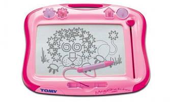 Доска для рисования (розовая) для девочек Tomy