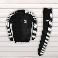 Спортивный костюм Adidas (Premium-class) черный