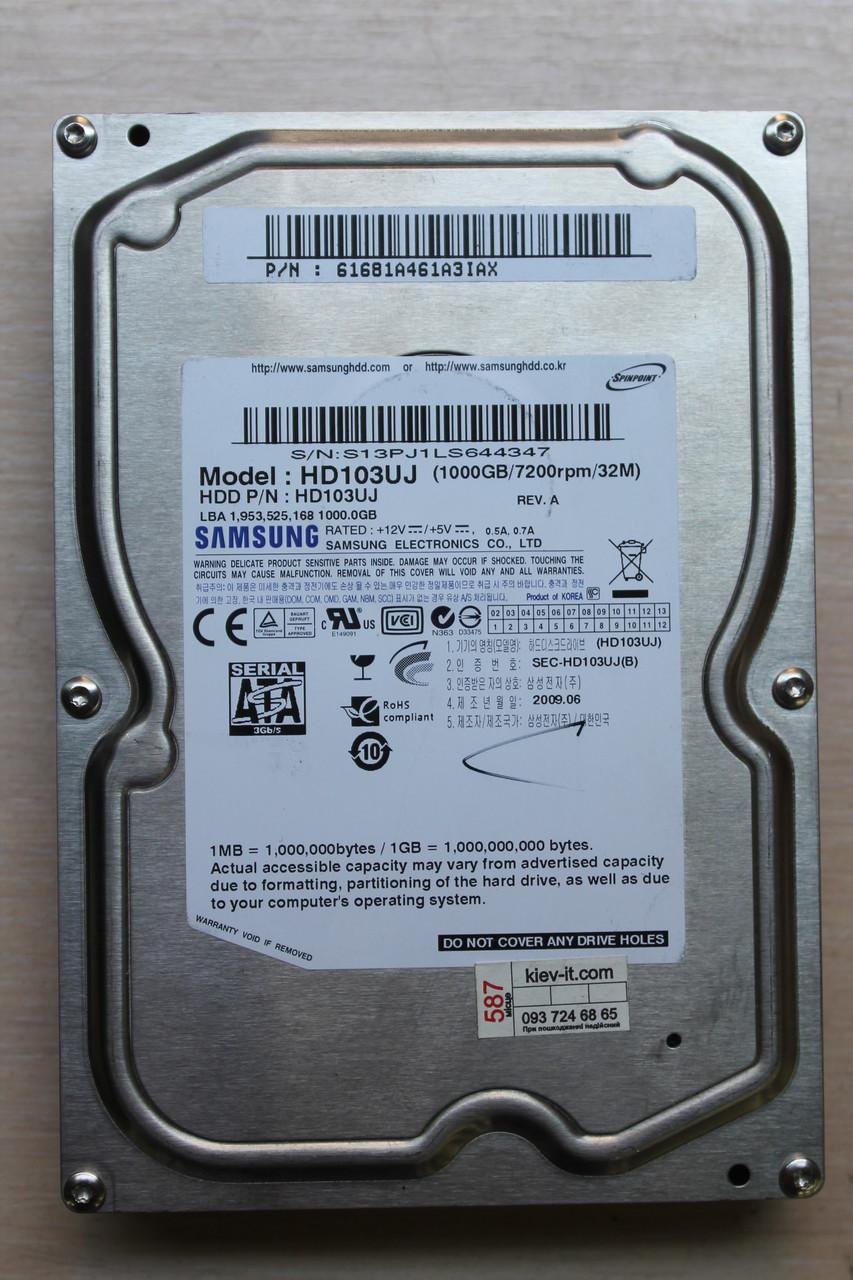 "Жесткий диск Samsung HD103UJ 1TB 3.5"" Б/У"