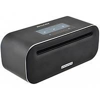Портативная сенсорная Bluetooth колонка Awei Y600 Bluetooth, MP3, AUX, Mic Чёрная, фото 1