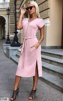 Платье женское летнее вискоза 42-48 размеров, 2 цвета