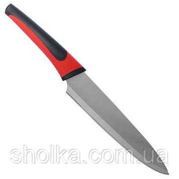 """Нож кухонный """"Black-Red"""" 32см (лезвие 19.5см)"""