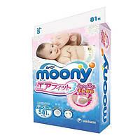 Подгузники для детей ТМ Муни / Moony размер S (4-8 кг) №81