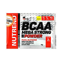 Аминокислоты BCAA Mega Strong Powder ананас ТМ Нутренд / Nutrend стик 20x10г