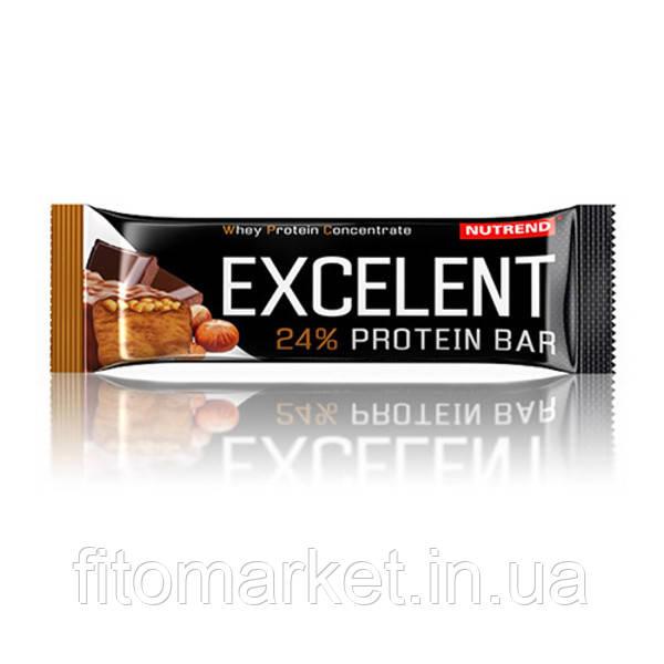 Батончик Excelent Protein Bar шоколад+орех ТМ Нутренд / Nutrend 85г