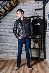 Классическая куртка-пиджак  printOFF черный  M  001742