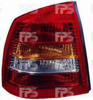 Фонарь задний для Opel Astra G седан '98-09 правый (DEPO) красно-дымчатый