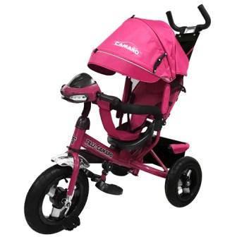 Детский трехколесный велосипед TILLY CAMARO T-362 Розовый /1/