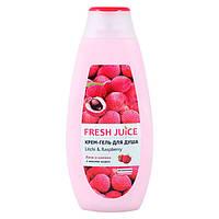Fresh Juice крем-гель для душу Лічі і Малина 400 мл