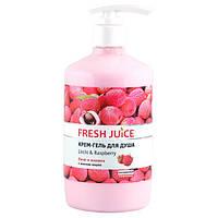 Fresh Juice крем-гель для душу Лічі і Малина 750 мл
