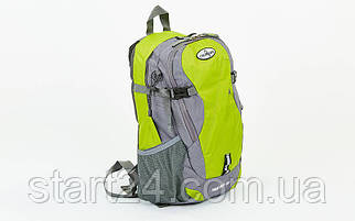 Рюкзак спортивный с жесткой спинкой COLOR LIFE V-26л TY-996 (нейлон, р-р 42х26х12,5см, цвета в ассортименте)