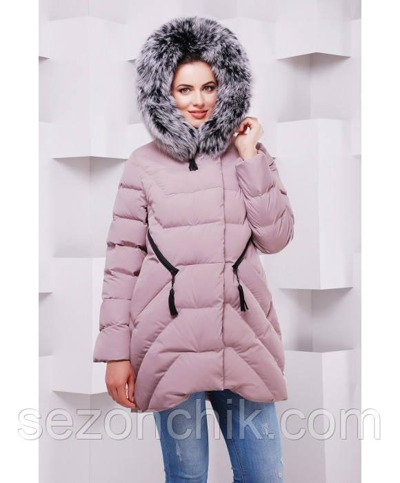 Стильный женский пуховик на зиму интернет магазин