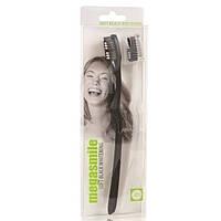 Зубна щітка Мегасмайл Soft Блек Вайтенинг 2 шт в упаковці
