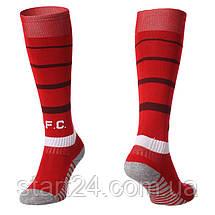 Гетры футбольные с символикой футбольного клуба LIVERPOOL HOME 2019 ETM1906-R (размер 27-34, красный), фото 2