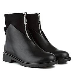 Ботинки женские Gelsomino (черного цвета, молодежные, оригинальные)