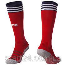 Футбольні гетри з символікою футбольного клубу BAYERN MUNCHEN HOME 2019 ETM1904-R (розмір 27-34, червоний), фото 2