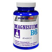 Магнезиум В6 ТМ Пауэрфул / Powerful капсули №60