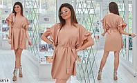 Платье женское свободное легкое летнее размер 42-46 универсальный, 3 цвета