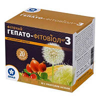 Фитовиол фіточай №3 Гепато-Фитовиол 1,5 г №20