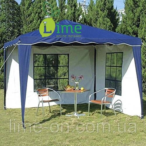 Шатер-павильон водостойкий со стенками, 3х3 м - LIME online магазин в Харькове