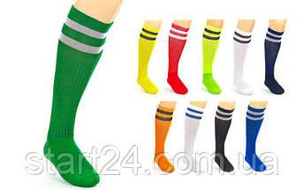 Гетры футбольные мужские CO-3257 (носок-хлопок, верх-терилен, размер 40-45, цвета в ассортименте), фото 2
