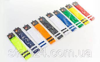 Гетры футбольные мужские CO-3257 (носок-хлопок, верх-терилен, размер 40-45, цвета в ассортименте), фото 3