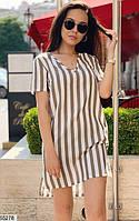 Платье женское легкое летнее лен 42-46 размеров, 3 цвета