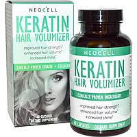 Коллаген и кератин для объема волос Neocell 60 капсул