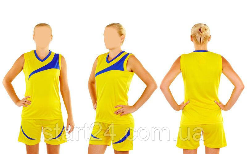 Форма баскетбольная женская Leader B103 (полиэстер, р-р S-L(44-50), цвета в ассортименте)
