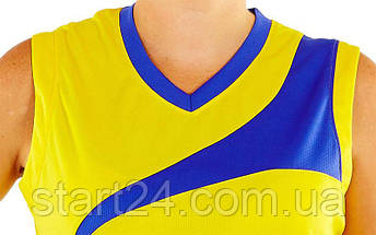 Форма баскетбольная женская Leader B103 (полиэстер, р-р S-L(44-50), цвета в ассортименте), фото 2
