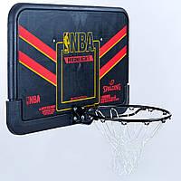 Щит баскетбольный SPALDING 80798CN HIGHLIGHT COMBO (композит, р-р 108x73см, кольцо d-49см)