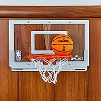 Щит баскетбольный SPALDING 56103CN NBA Arena Slam 180 (поликарбонат, р-р 46x27см, кольцо d-22,5см)