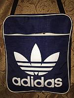 Сумка планшет adidas/Сумка для через плечо/Сумка планшет  кринкл-жатка, фото 1