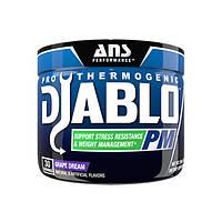 Жиросжигающие комплекс ANS Performance Diablo PM Stress Control виноградна мрія 150 гр